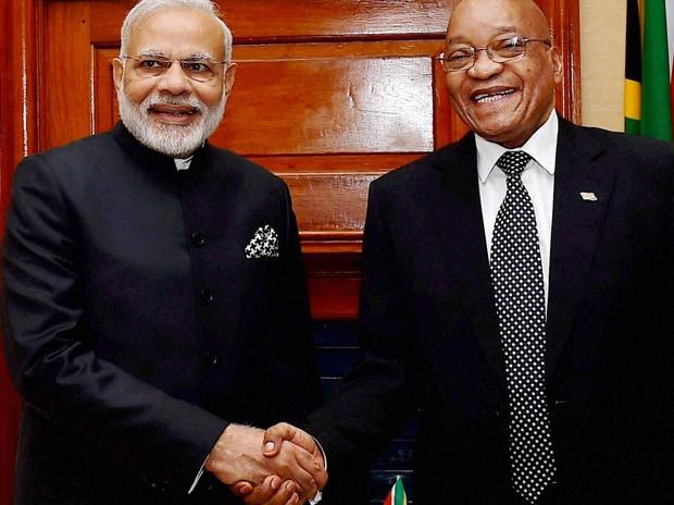 Narendra Modi, Jacob Zuma