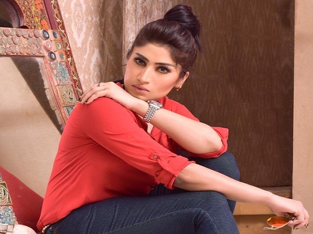 Photo:Qandeel Baloch Twitter Handle