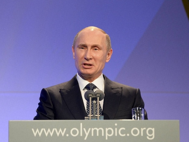 File photo of Vladimir Putin