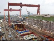 Cochin Shipyard facility