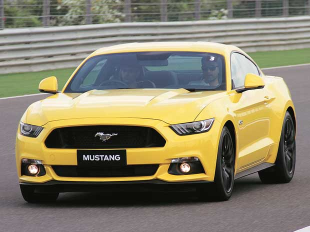 Ford Mustang GT: Born to race