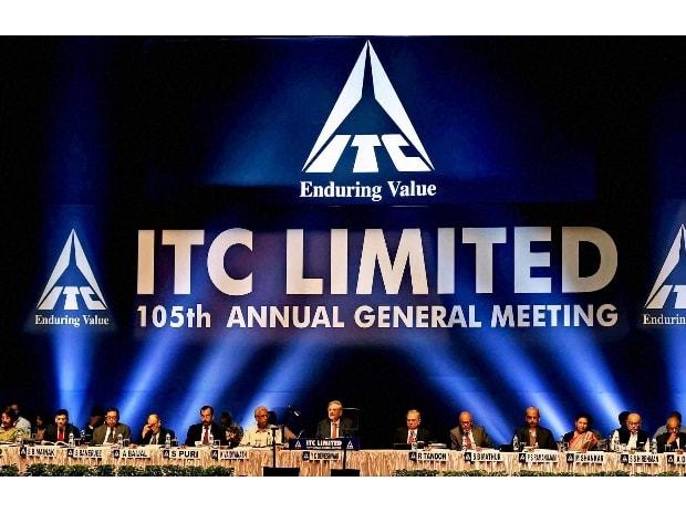 ITC Chairman Y C Deveshwar addresses shareholders ...