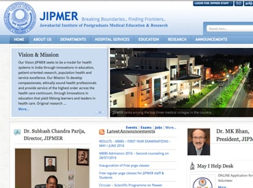 JIPMER website