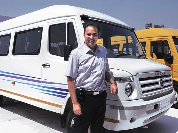 Prasan Firodia, Managing Director, Force Motors
