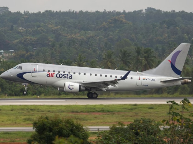 An aircraft of Air Costa takes off. Photo: Wikipedia