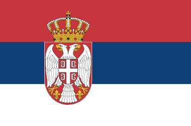 Serbia flag Photo: Wikipedia