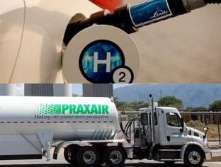 Industrial gases firms Praxair and Linde engage in merger talks