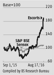 Escorts could see more upsides