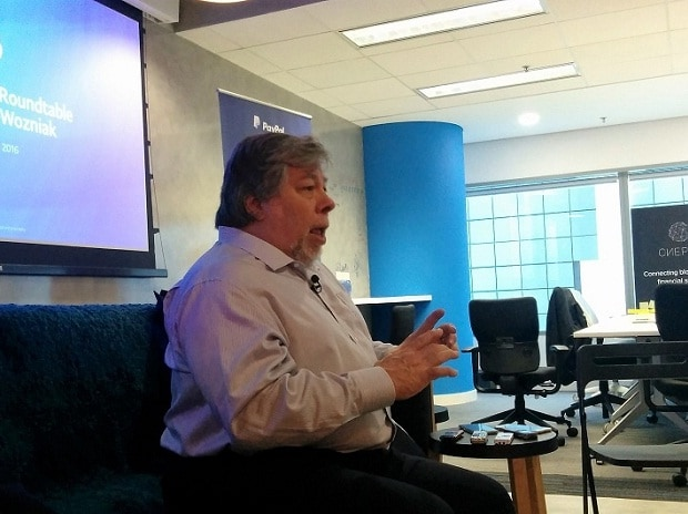 Woz says someone stole 7 of his Bitcoins