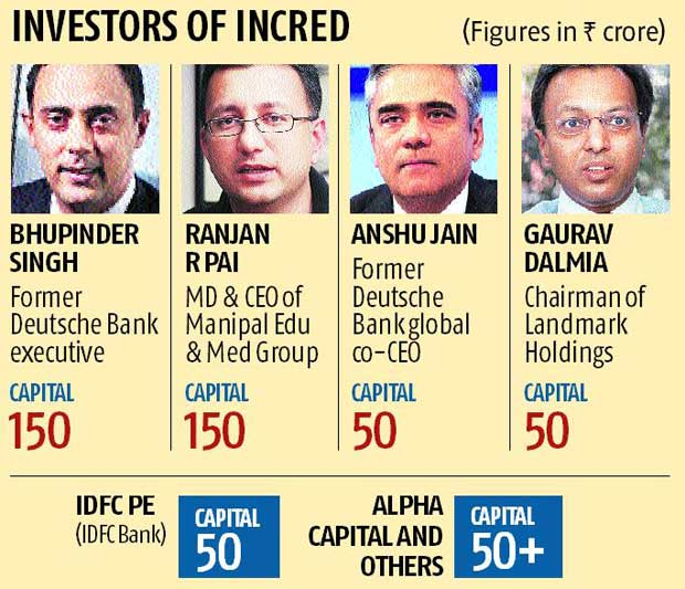 InCred gets Anshu Jain, other top investors
