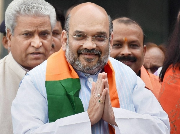 KCR scared of Owaisi, says Amit Shah