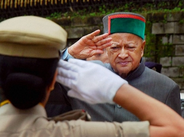File photo of Himachal Pradesh CM Virbhadra Singh