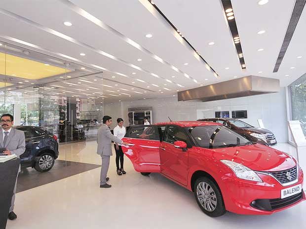 A Nexa outlet in Thane run by Mumbai-based retailer Autovista
