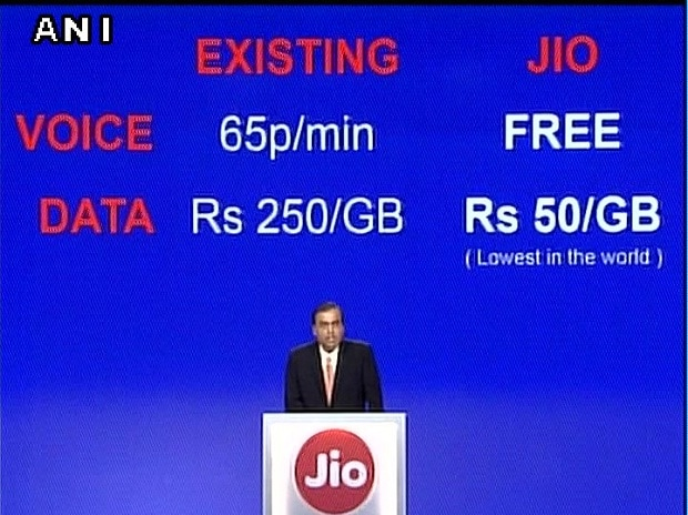 Lowest data charges (ANI)
