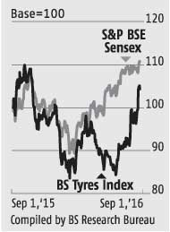 Soft rubber may stabilise tyre firms' margins