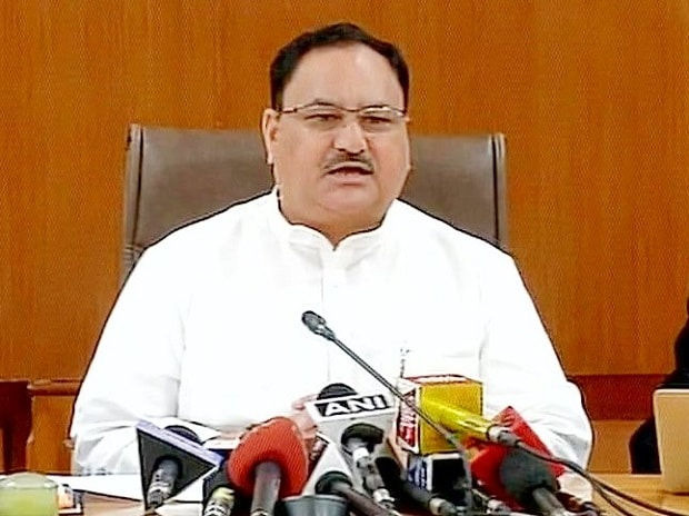 J P Nadda Photo: AIR Twitter