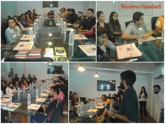 Fridays with Business Standard at The 120 Media Collective, Mumbai