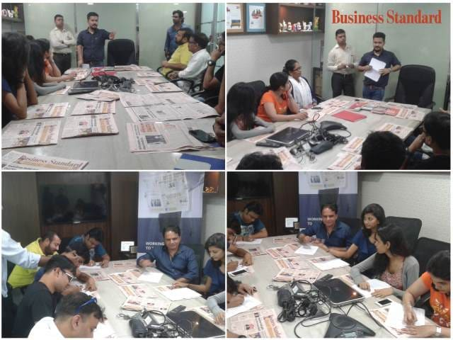 Fridays with Business Standard at Goldmine Advertising, Mumbai