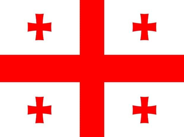 Flag of Georgia (Image: Wikipedia)