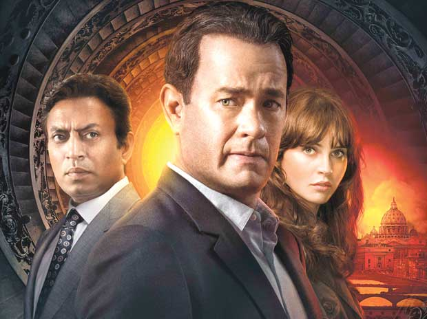 Irrfan Khan with Tom Hanks in a still from Inferno