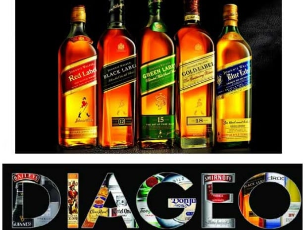 Diageo says annual profits fizz higher