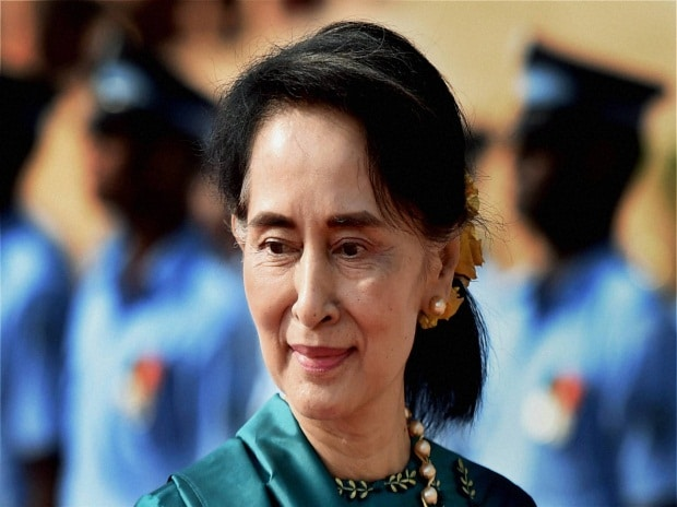 Oxford College removes Aung San Suu Kyi's portrait