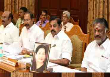 Panneerselvam holds first Cabinet meeting after Jaya's illness