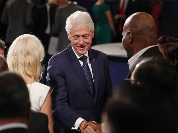 File photo of former US president Bill Clinton. (Photo: Reuters)