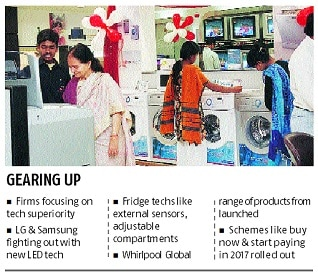 It's all about tech & innovation this Diwali for durables companies