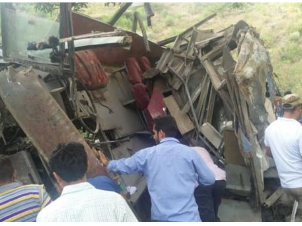 48 Seater Bus >> Jammu accident toll increases to 22 | Business Standard News
