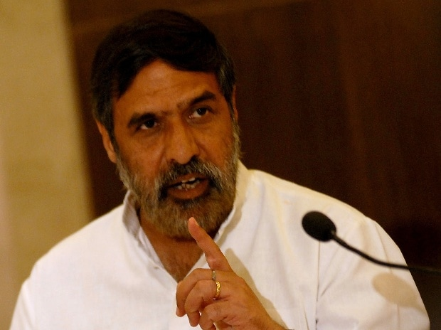 Anand Sharma  Photo: Kamlesh Pednekar
