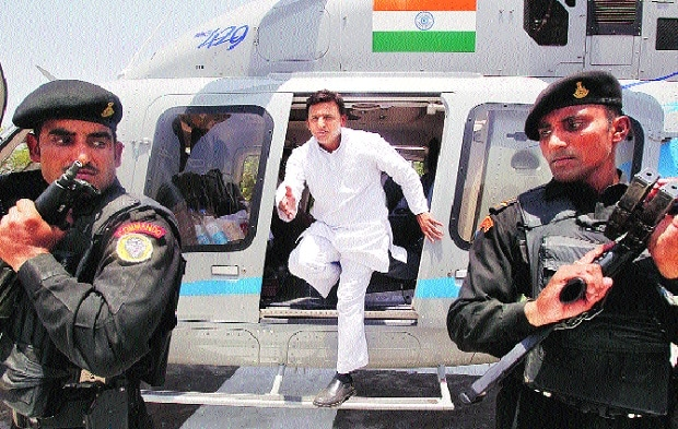 UP power struggle: Akhilesh rising, party fraying
