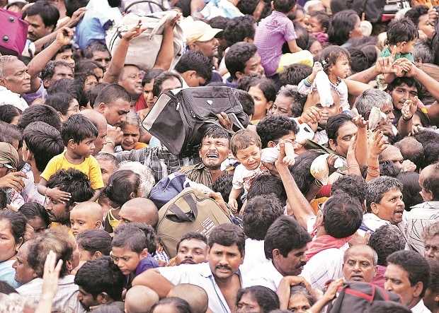 Story in numbers: Stampedes make life cheap in India