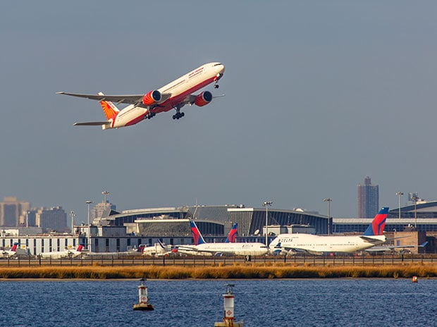 File photo of an Air India flight. (Photo: Shutterstock)
