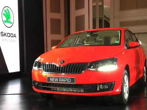 Skoda launches new Rapid at Rs 8.3 lakh to take on Ciaz, Verma
