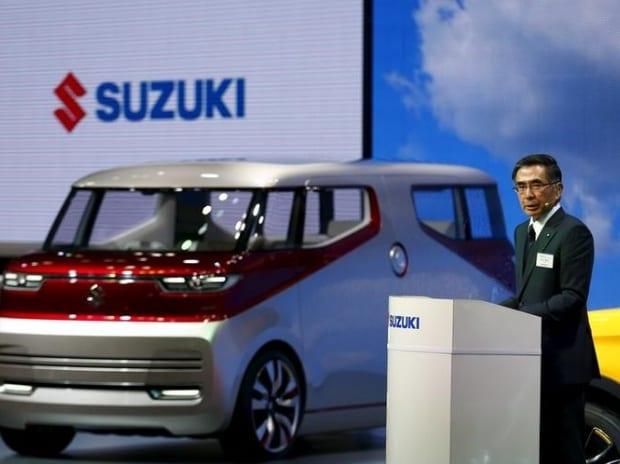 Suzuki Motor's President Toshihiro Suzuk