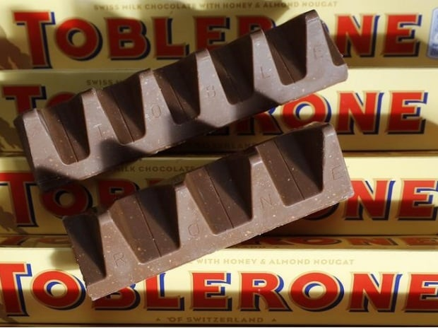 Tobler-moan: UK fans bare sweet teeth over scaled-down chocolate bar