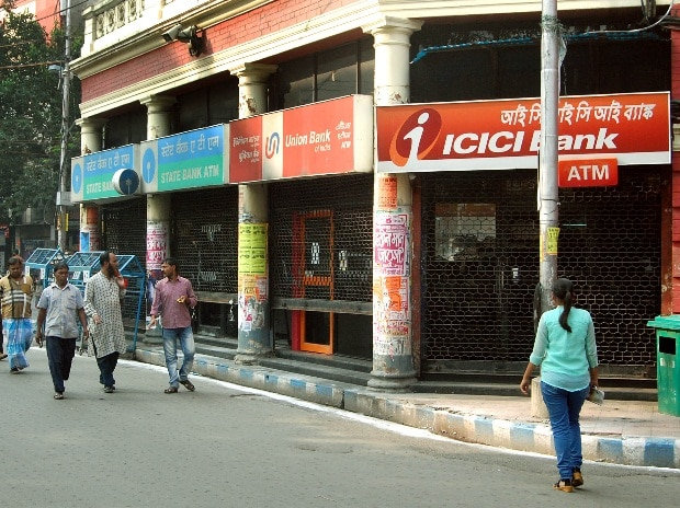 A closed ICICI Bank branch in Kolkata (Pic: ...