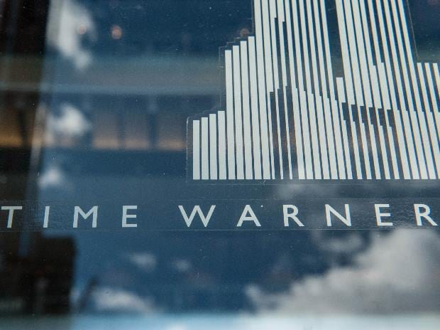 Signage that reads Time Warner is seen at the Time Warner Center in New York City, US.Photo: Reuters