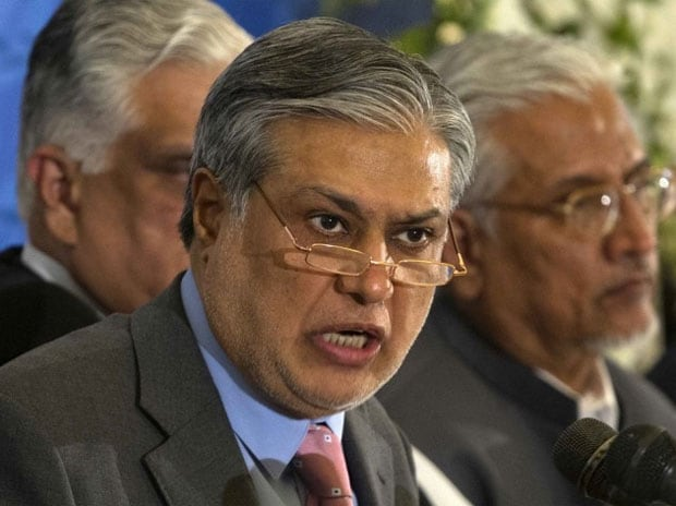 Finance Minister Ishaq Dar  File Photo: Reuter