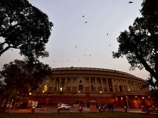 A view of the Parliament House in New Delhi. (Photo: PTI)