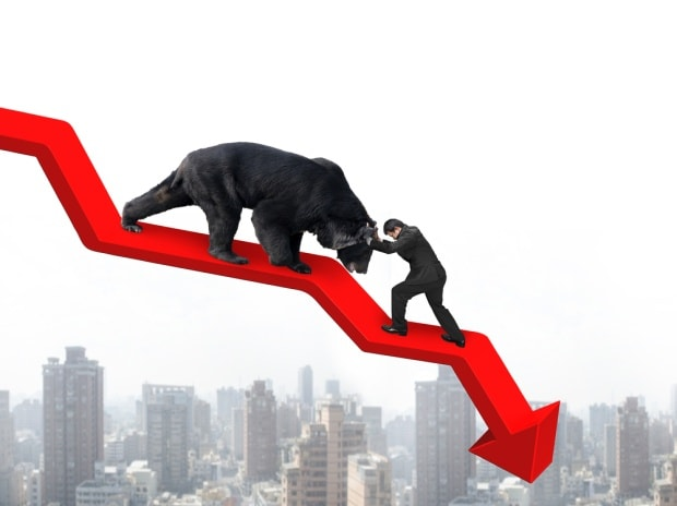 Sensex-ends-124-points-lower-Nifty-below-9500-a-day-before-expiry