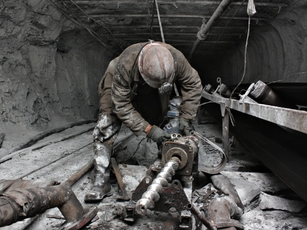 A miner at a coal mine  Photo: Shutterstock