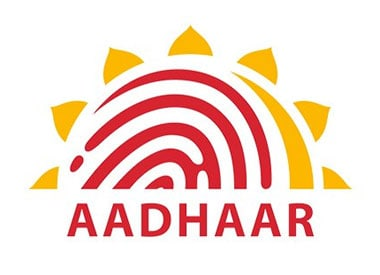 Logo of Aadhaar. Photo: Twitter (@UIDAI)