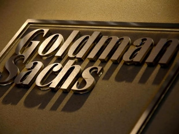 A sign is displayed in the reception of Goldman Sachs in Sydney (Photo: Reuters)