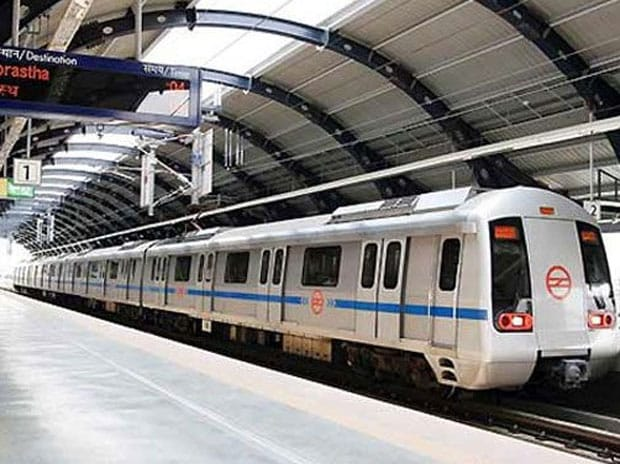 Delhi Metro. Photo: PTI