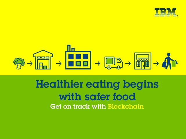 Making The Food We Eat Safer With  Blockchain Technology