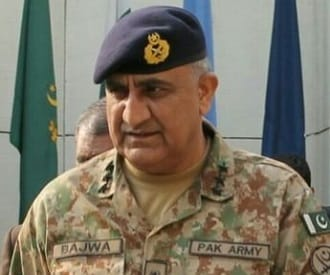 Newly appointed Pakistan Army Chief Qamar Javed Bajwa