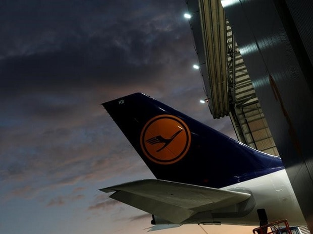 The tail of a Lufthansa airplane is seen outside a Lufthansa Technik maintenance hangar at Malta International Airport outside Valletta, Malta.Photo:Reuters