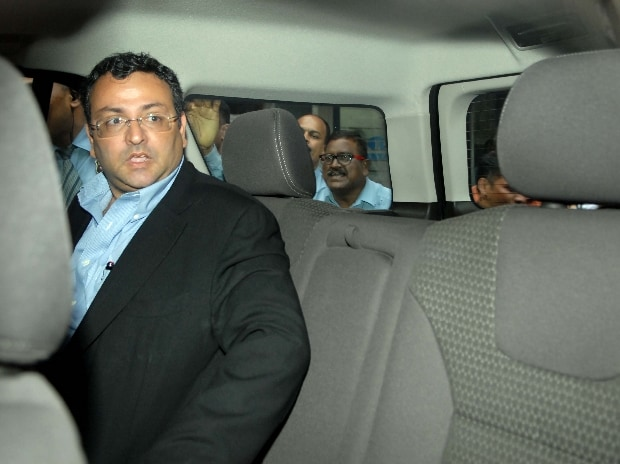 Cyrus Mistry former chairman of Tata sons leaves from Bombay House in Mumbai (Photo: Kamlesh Pednekar)